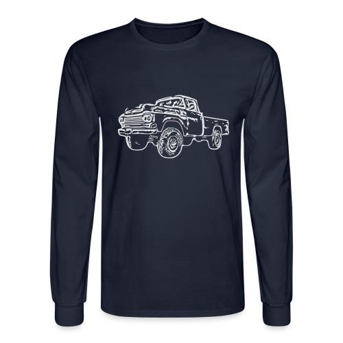 gnarlyTruck - Men's Long Sleeve T-Shirt