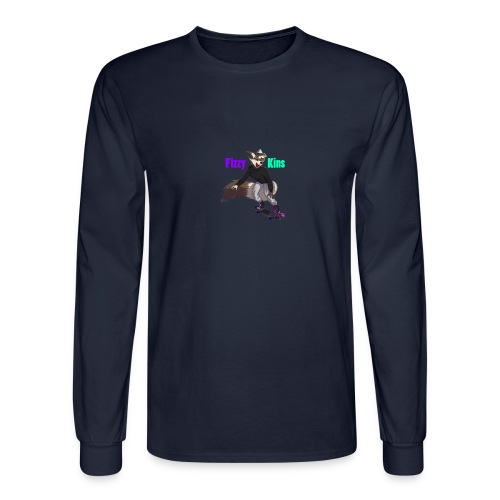 FizzyKins Design #1 - Men's Long Sleeve T-Shirt