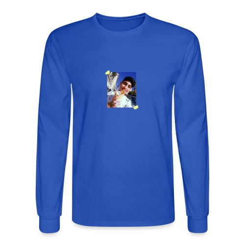 WITH PIC - Men's Long Sleeve T-Shirt