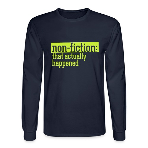 non fiction.png - Men's Long Sleeve T-Shirt
