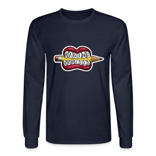 Raging Pencils Bargain Basement logo t-shirt - Men's Long Sleeve T-Shirt