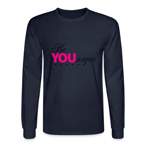 Be Unique Be You Just Be You - Men's Long Sleeve T-Shirt