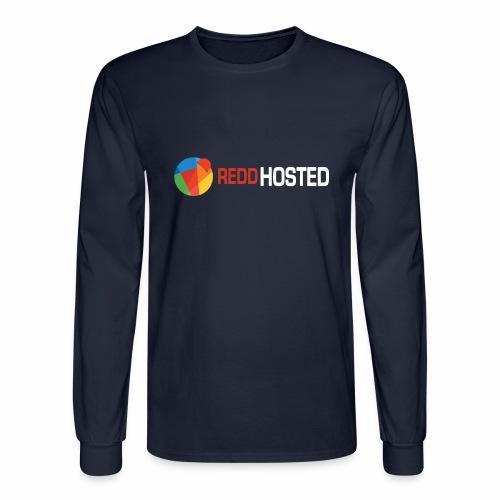 REDDHOSTED LOGO - Men's Long Sleeve T-Shirt