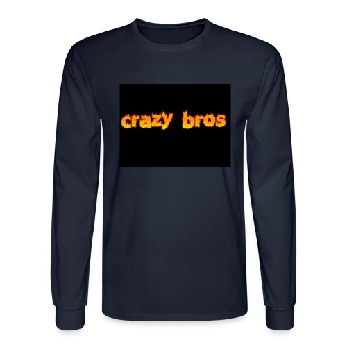 Crazy Bros logo - Men's Long Sleeve T-Shirt