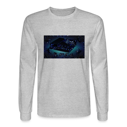 ps4 back grownd - Men's Long Sleeve T-Shirt