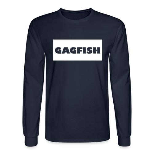 GAGFISH WIGHT LOGO - Men's Long Sleeve T-Shirt