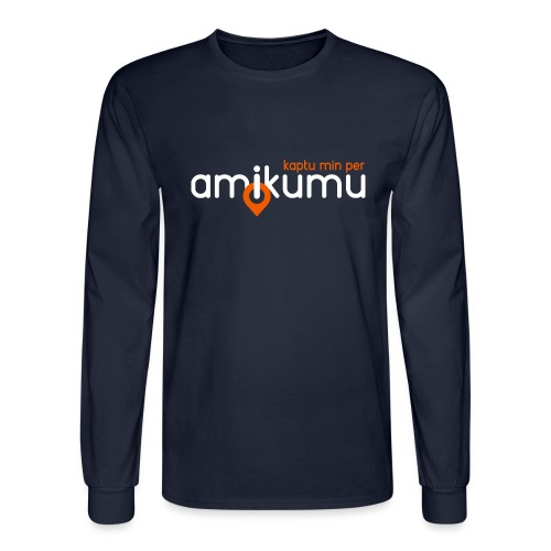 Kaptu min per Amikumu Blanka - Men's Long Sleeve T-Shirt