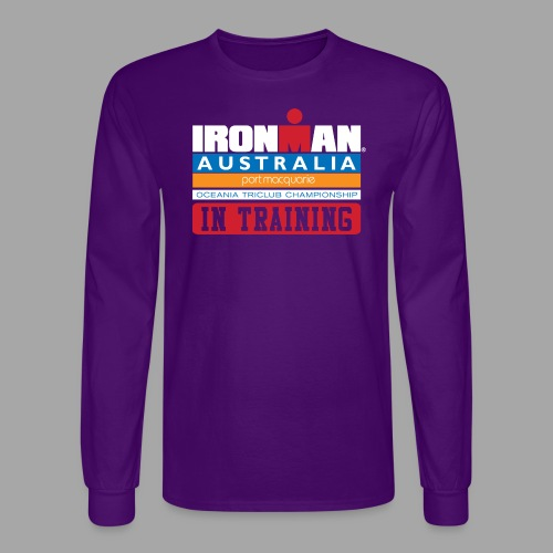 IRONMAN Australia alt - Men's Long Sleeve T-Shirt