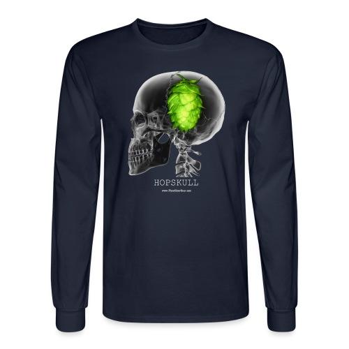 HOPSKULL Men's 3XL/4XL Hooded Sweatshirt - Men's Long Sleeve T-Shirt
