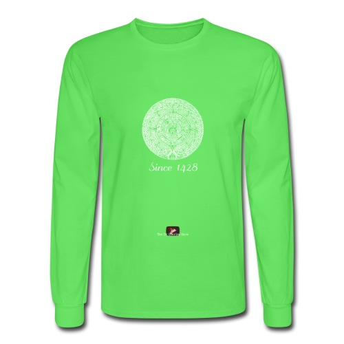 Since 1428 Aztec Design! - Men's Long Sleeve T-Shirt