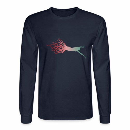 Octowoman fade - Men's Long Sleeve T-Shirt