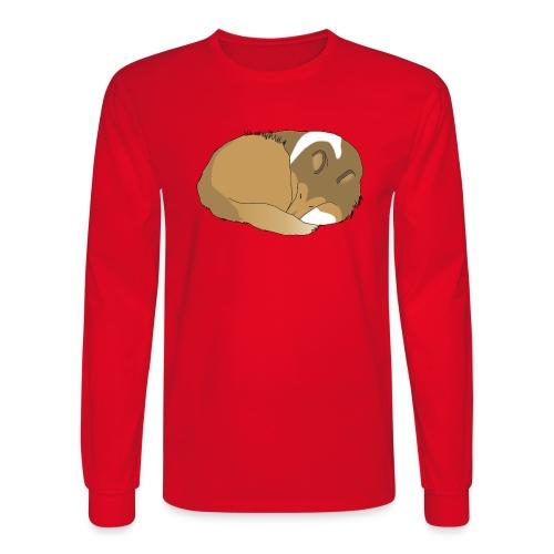 Sleeping Holly - Men's Long Sleeve T-Shirt
