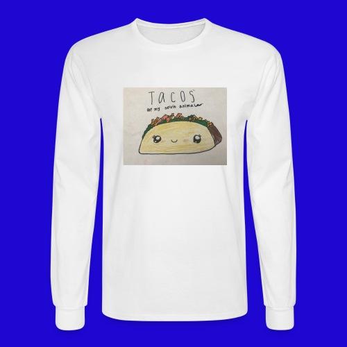 Tacos are my Spirit Animal - Men's Long Sleeve T-Shirt
