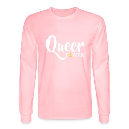 Queer Power T-Shirt 04 - Men's Long Sleeve T-Shirt