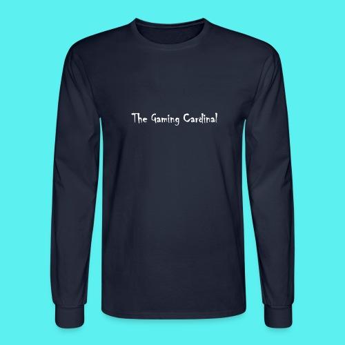 white logo text - Men's Long Sleeve T-Shirt