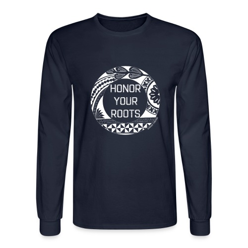 Honor Your Roots (White) - Men's Long Sleeve T-Shirt