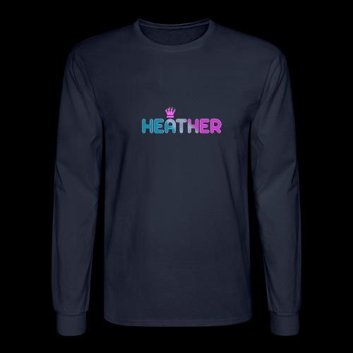 Heather - Men's Long Sleeve T-Shirt