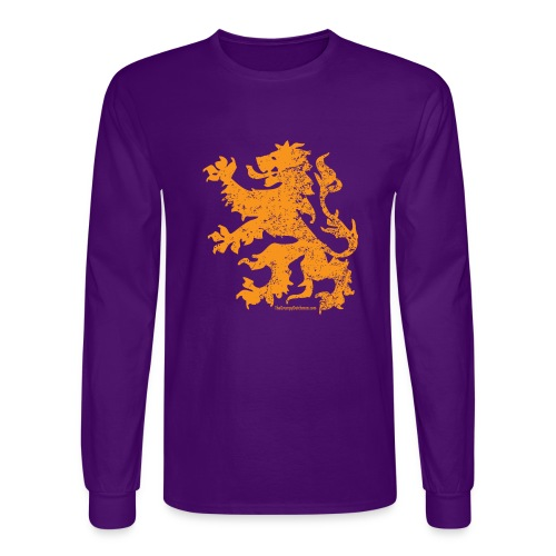 Dutch Lion - Men's Long Sleeve T-Shirt