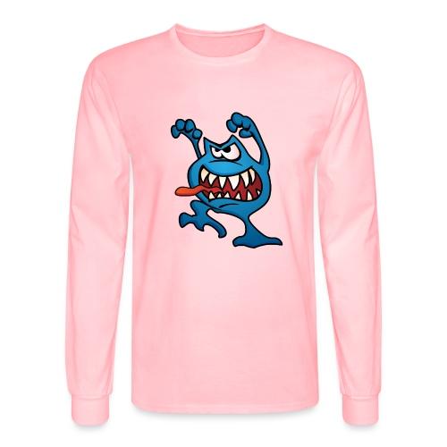 Cartoon Monster Alien - Men's Long Sleeve T-Shirt