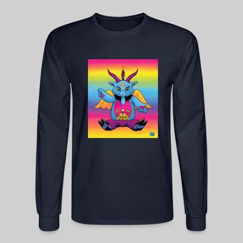 Rainbow Baphomet - Men's Long Sleeve T-Shirt