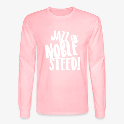 MSS Jazz on Noble Steed - Men's Long Sleeve T-Shirt