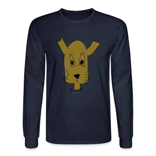 ralph the dog - Men's Long Sleeve T-Shirt