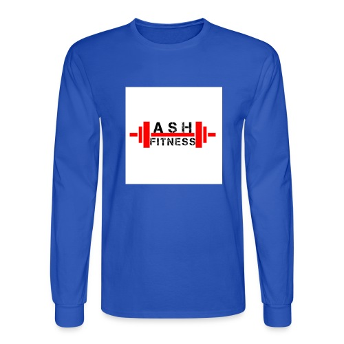 ASH FITNESS MUSCLE ACCESSORIES - Men's Long Sleeve T-Shirt