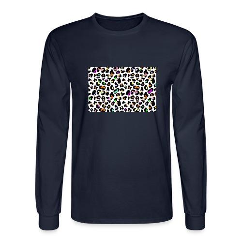 Colorful Animal Print - Men's Long Sleeve T-Shirt