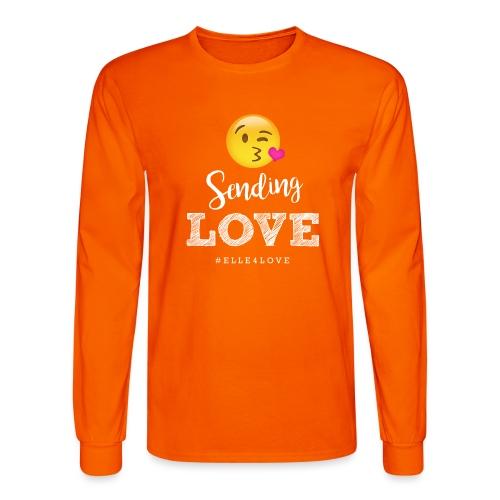 Sending Love - Men's Long Sleeve T-Shirt