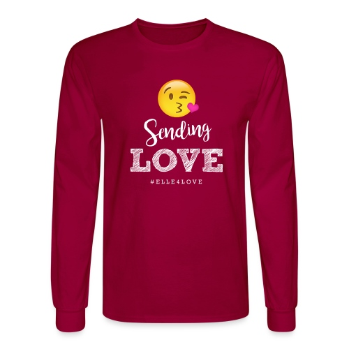 Sending Love - Men's Long Sleeve T-Shirt