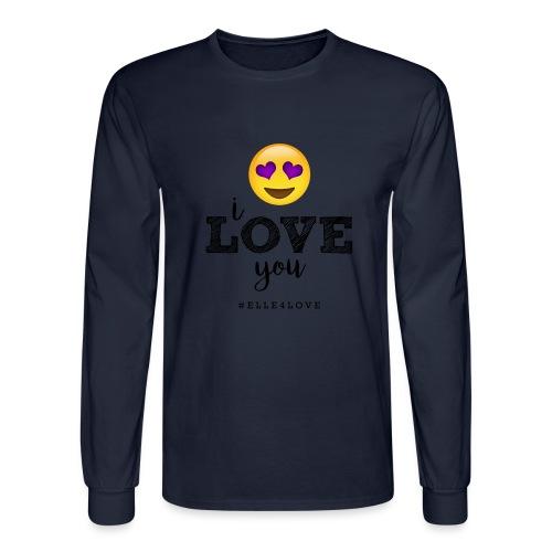 I LOVE you - Men's Long Sleeve T-Shirt