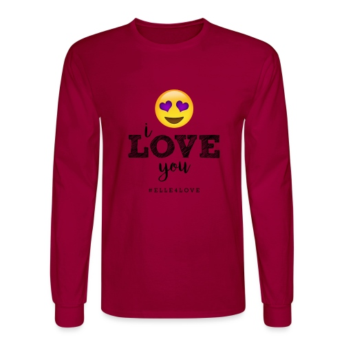I LOVE you - Men's Long Sleeve T-Shirt