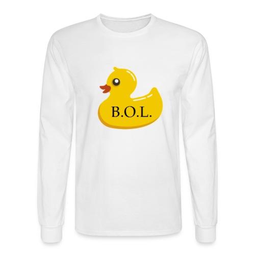 Official B.O.L. Ducky Duck Logo - Men's Long Sleeve T-Shirt