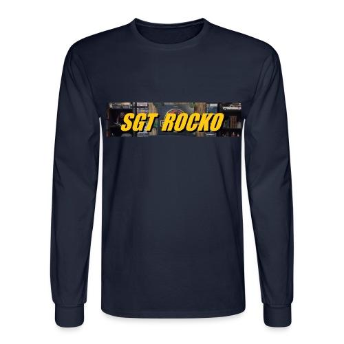 RockoWear Banner - Men's Long Sleeve T-Shirt