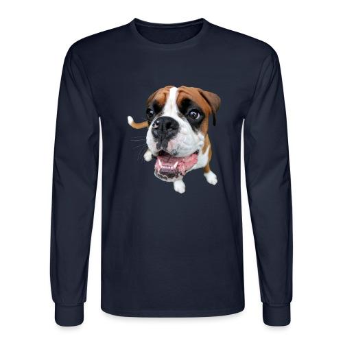 Boxer Rex the dog - Men's Long Sleeve T-Shirt