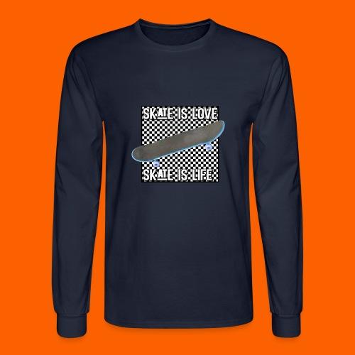 SK8 is Love - Men's Long Sleeve T-Shirt
