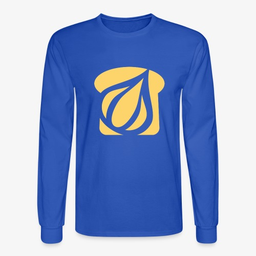 Garlic Toast - Men's Long Sleeve T-Shirt