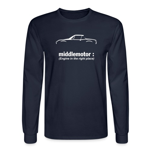 middlemotor - Men's Long Sleeve T-Shirt