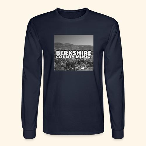 Berkshire County Music Black/White - Men's Long Sleeve T-Shirt