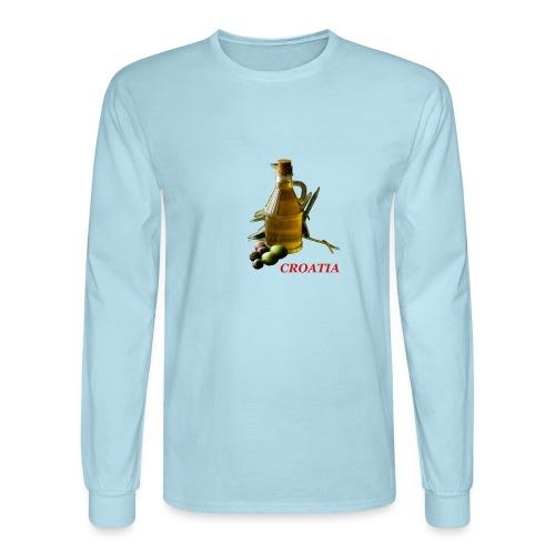 Croatian Gourmet 2 - Men's Long Sleeve T-Shirt