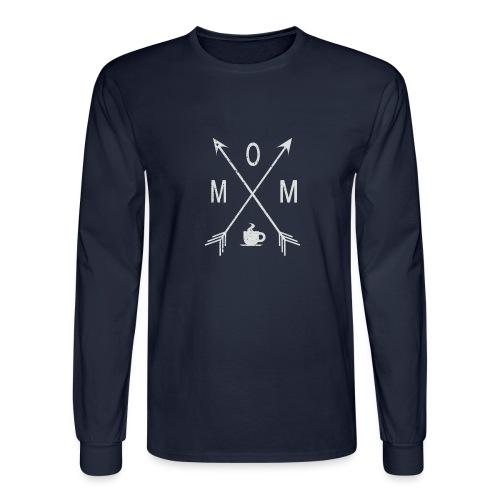 Mom Loves Coffee - Men's Long Sleeve T-Shirt
