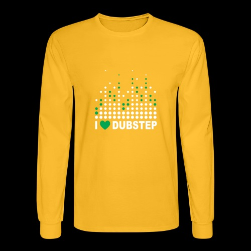 I heart dubstep - Men's Long Sleeve T-Shirt