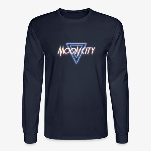 Moon City Logo - Men's Long Sleeve T-Shirt