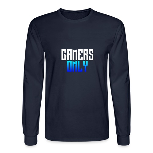 Gamers only - Men's Long Sleeve T-Shirt