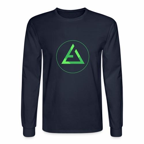 crypto logo branding - Men's Long Sleeve T-Shirt