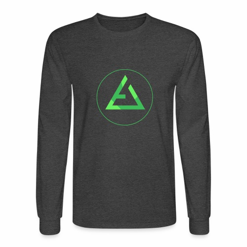 crypto logo branding - Men's Long Sleeve T-Shirt