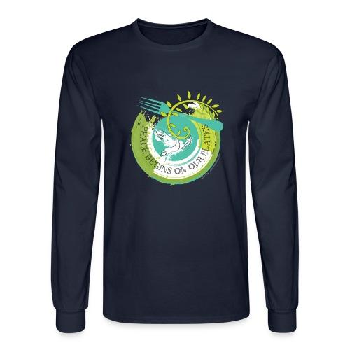 Peace Plate - Men's Long Sleeve T-Shirt
