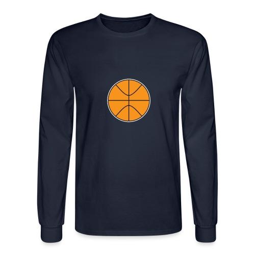 Plain basketball - Men's Long Sleeve T-Shirt