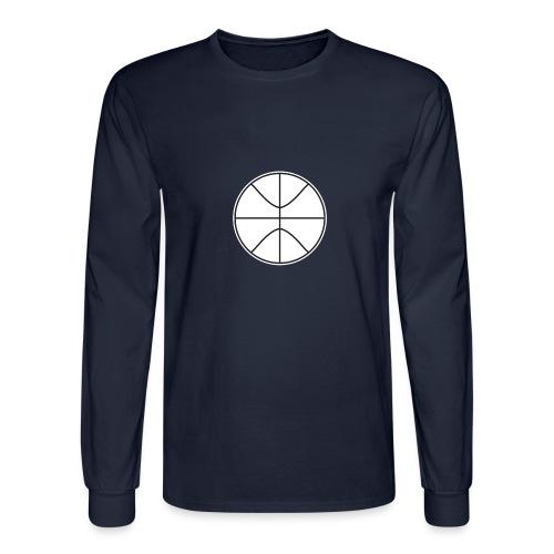 Basketball black and white - Men's Long Sleeve T-Shirt