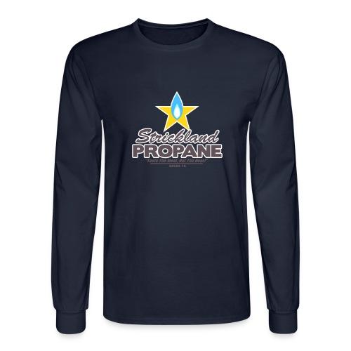 Strickland Propane Mens American Apparel Tee - Men's Long Sleeve T-Shirt